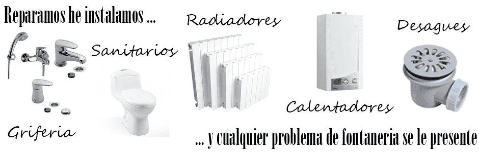 Fontaneros Madrid reparaciones