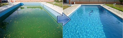 mantenimiento piscinas antialgas