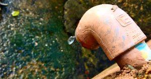 fuga de agua en vivienda
